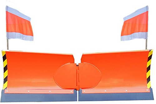 Vario-Schneeschild / Arbeitsbreite 125cm / Euro-Aufnahme / 7 fach hydraulisch schwenkbar / Inklusive verschleissfester Gummi-Schürfleiste / Inklusive 2 Hydraulik-Zylinder + 4 Hydraulikschläuche / Schneeschieber Winterdienst Radlader Schneepflug
