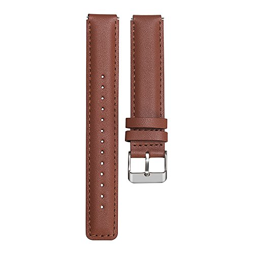 bemodst® Huawei Cinturino-16mm Huawei B3di ricambio Cinturino in vera pelle per Huawei B3Smart Bracciale, Brown