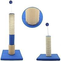 BPS® Rascador Juguete para Mascotas Gatos con Bola Materiales Rugoso Tamaño 60x30x30 cm BPS-10701