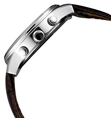 Guess Men's Watch Quartz Chronograph XL Leather Exec W0076G2