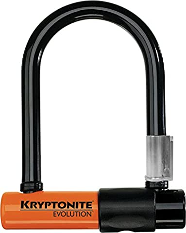 Kryptonite Bügelschloss Evolution Mini-5 mit Flex Frame Halter, 3500327