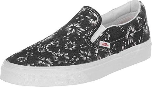 Vans Classic Slip On chaussures noir blanc