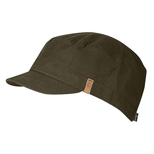 FJÄLLRÄVEN Singi Trekking Baseball Cap, Grün (Dark Olive 633), Large (Herstellergröße: L)