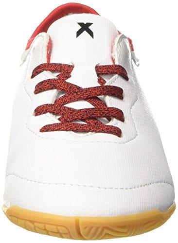 adidas X Tango 16.3 In J, Chaussures de Football Entrainement garçon Blanc (Footwear White/footwear White/red)