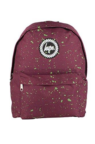Hype Rucksack Tasche - Verscheidene Farben Burgundy Green