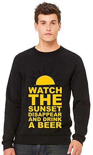 watch-the-sunset-disappear-and-drink-a-beer-unisex-crewneck-sweatshirt-xx-large