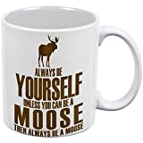 Best Animal World Mooses - Always Be Yourself Moose White All Over Coffee Review
