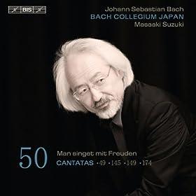Man singet mit Freuden vom Sieg, BWV 149: Aria: Seid wachsam, ihr heiligen Wachter (Alto, Tenor)
