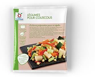 Toupargel Mélange de Légumes Coucous 1 kg