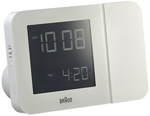 Braun BNC015 Projektionswecker, weiß