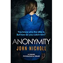 Anonymity: a chilling psychological thriller (DI Gravel Book 4) (English Edition)