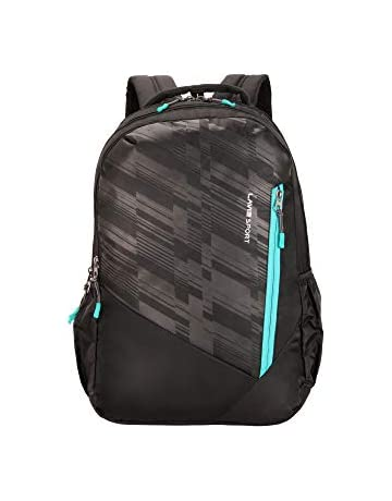 Lavie Sport 28 Ltrs Black School Backpack (BDEI322019M3)