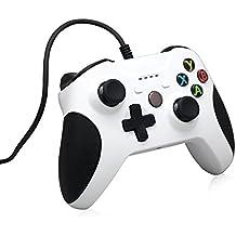 xbox one controller, Controlador con cable XBox One Stoga con cable reemplazo Gamepad Compatible con XBox One y Windows PC
