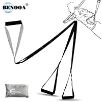 Benooa Suspension Trainer Kit, Fitness Training Kit Adjust Professional Suspension Exercise System for Core Strength Trainer Home Gyms and Outdoor Lightweight/Simple