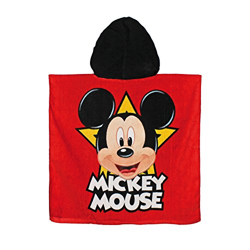 Image of MICKEY MOUSE hooded towel poncho