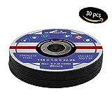 30 dischi da taglio flessibili, 115 mm x 1 mm INOX