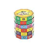 TOYMYTOY-Mathematik-Zahlen-Zauberwrfel-Spielzeug-Puzzle-Spiel-Frhe-Lernspielzeug-fr-Kinder TOYMYTOY Mathematik Zahlen Zauberwürfel Spielzeug Puzzle Spiel Frühe Lernspielzeug für Kinder -