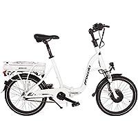 Provelo E-Bike Elektrofahrrad / Fahrrad / Stadtrad, weiß, 7 Gang Nabenschaltung, Reifengröße: 71,1 cm