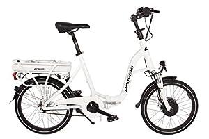 provelo E-Bike Elektrofahrrad/Fahrrad/Stadtrad, weiß, 7 Gang Nabenschaltung, (20 Zoll)