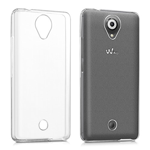 kwmobile Wiko U Feel Hülle - Handyhülle für Wiko U Feel - Handy Case in Transparent