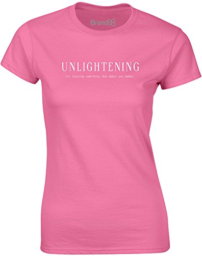 Brand88 - Unlightening, Mesdames T-shirt imprimé Azalée/Blanc
