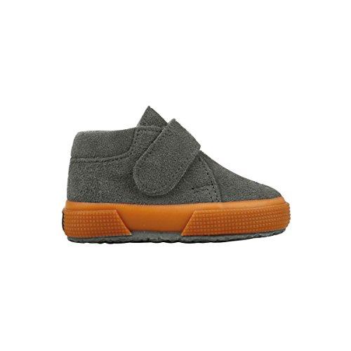 Superga 2174-Bsuj, Sneaker a Collo Alto Unisex – Bambini GREY MINERAL