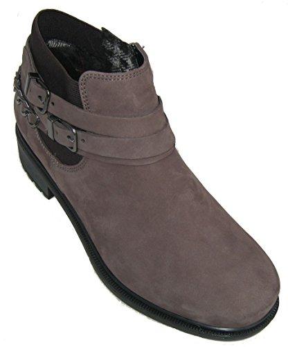 ara Kansas  Damen Biker Boots Grau (street -65)