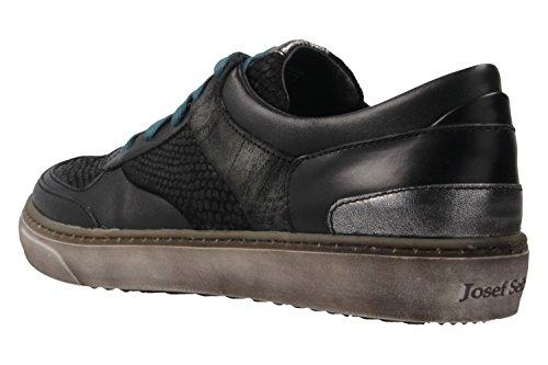 Josef Seibel Femmes Chaussures à lacets noir, (SCHWARZ/ANTHRAZIT) 8530344/604 SCHWARZ/ANTHRAZIT
