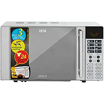 Ifb 20 L Convection Microwave Oven 20sc2 Metallic Silver