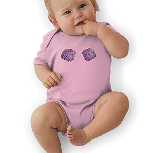 Bodys & Einteiler,Babybekleidung, Baby one-Piece Suit,Baby Jumper,Pajamas, Baby Boy Bodysuit, Mermaid Seashell Unisex Newborn Infant Bodysuit Baby Clothes
