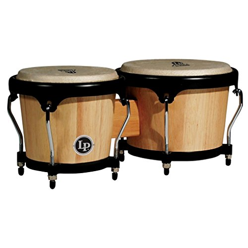 LP Latin Percussion LP810502 Aspire Wood Bongo Natural