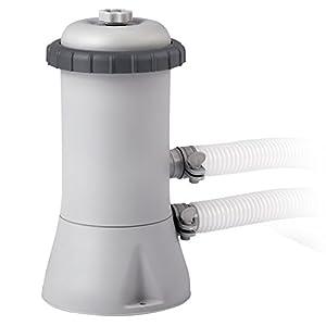 Intex Pompa Filtro per Piscina Easy-Frame, Grigio, 1.7 m3ora
