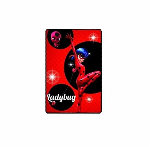 SunCity, Manta forro polar diseño Ladybug, Rojo