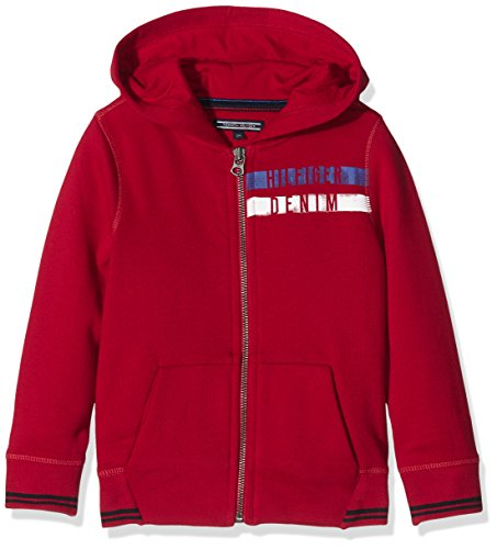 tommy-hilfiger-boys-hd-zipthru-hwk-l-s-sports-hoodie-red-rot-chili-pepper-693-7-years