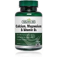 Natures Aid | Calcium Magnesium & D3 Tablets | 1 x 90s