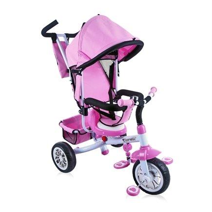 Lorelli b302a triciclo evolutif para bebé/niños 1–4años Color Rosa