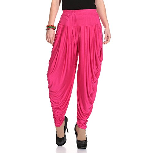 Orenge Enterprise Pink Dhoti For Womens