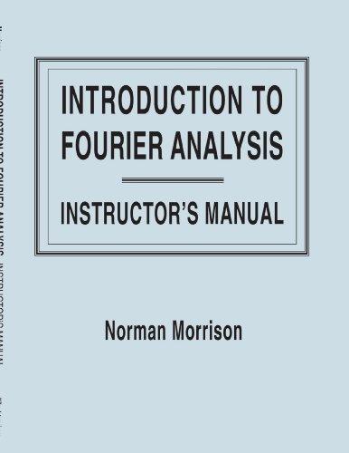 Fourier Sol Man por Morrison