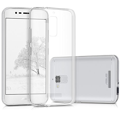 kwmobile ASUS ZenFone 3 Max (ZC520TL) Hülle - Handyhülle für ASUS ZenFone 3 Max (ZC520TL) - Handy Case in Transparent