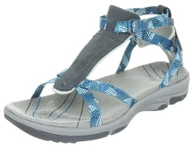 Hi-Tec Women's Harmony Ankle Strap Graphite/Cool Grey/Ultramarine Sandal O001630/051/01 4 UK, 37 EU, 6 US