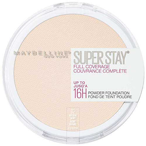 MAYBELLINE Superstay Full Coverage Powder Foundation - Natural Ivory 112 -