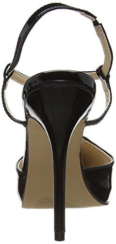 Pleaser - Amuse 16, Scarpe con cinturino Donna Nero (Black (Blk Pat))
