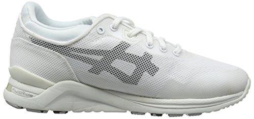 Asics Gel-lyte Evo Unisex-Erwachsene Sneaker White (White/Black 0190)