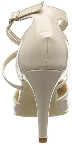 Spot On F10551 - Escarpins Femme Beige (Nude)