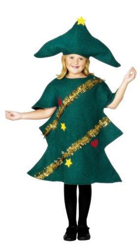 green disfraz de rbol de navidad para nio talla m mkit