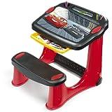 Smoby Disney Table d'activités avec Chaise et Accessoires, Plastique, Red, Cars 3
