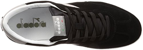Diadora Field, Chaussures de Gymnastique Homme Noir (Nerogrigio Paloma)