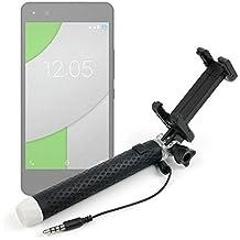 Palo Selfie (Selfie-Stick) DURAGADGET para Smartphones BQ Aquaris A4.5 | M5 | X5 | Cubot P11 | X9