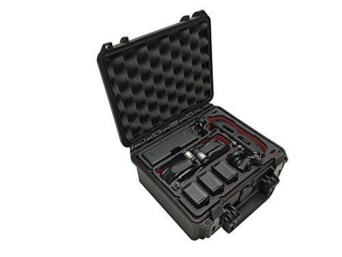 """Profi Transportkoffer, Koffer \""""Kompakt\"""" für DJI Mavic Air. Platz für bis zu 5 Akkus und viel Zubehör, wasserdichter Outdoor Case IP67, Hardcase, Made in Germany"""