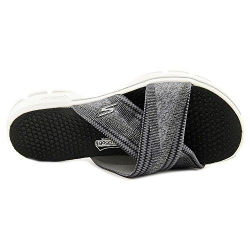 Skechers Go Walk - Fiji Damen Schuh Black/White